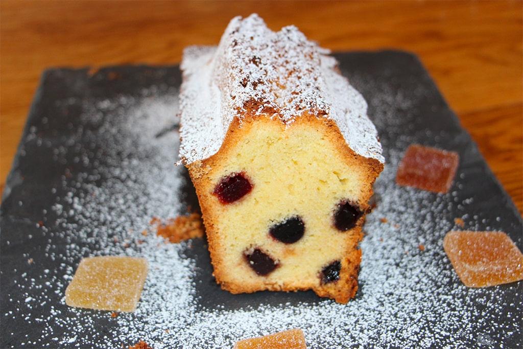 Cake aux pâtes de fruit
