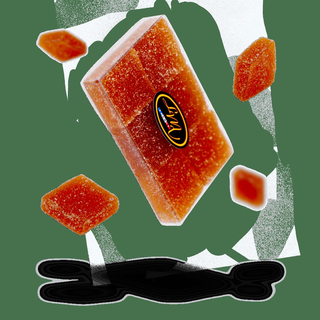Etuis - Pâtes de fruit chartreuse