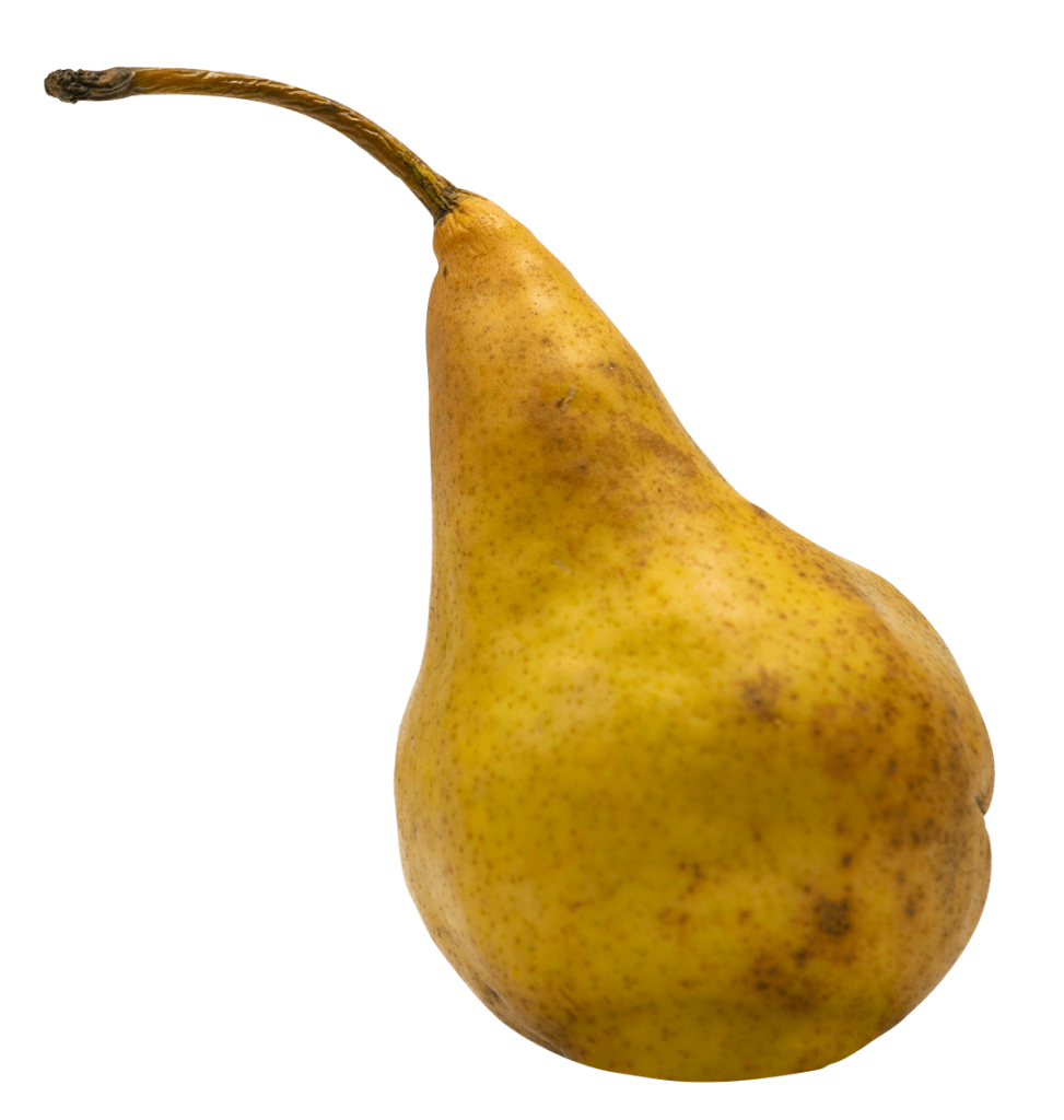Pâtes de fruits à la poire