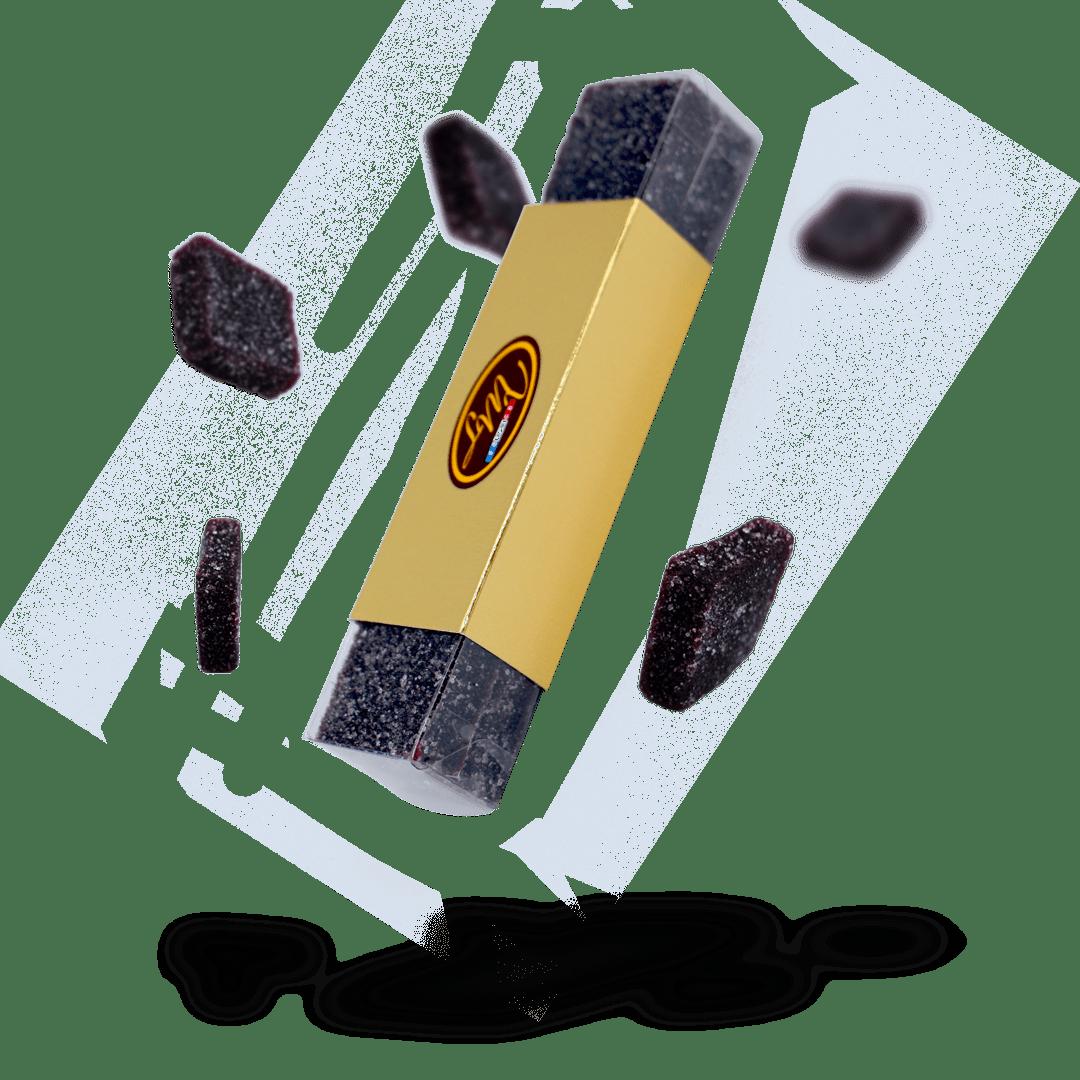 Plumier - Pâtes de fruits myrtille